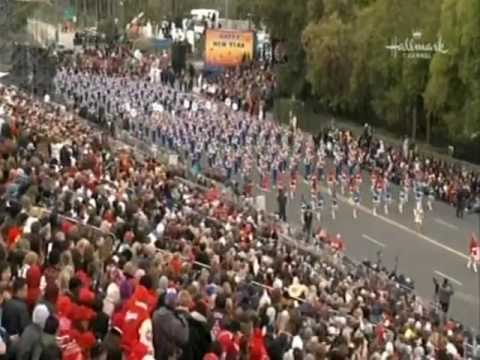 Morgantown High School Red & Blue Marching Band in the 2013 Rose Parade