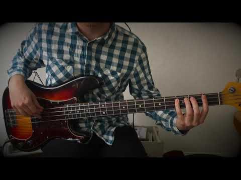 Four note grouping - simpel jazz blues (bas)