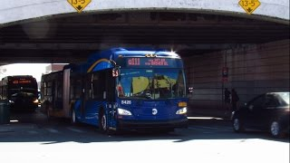 2016 New Flyer XD60 Xcelsior Articulated #5426 & #5435 on the Q111 at Archer Av & Guy R Brewer Blvd