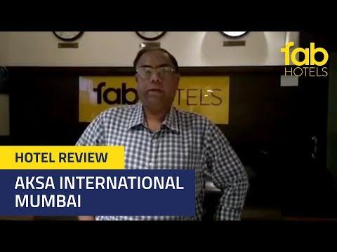 Himalendu Bose at FabHotel Aksa International, Mumbai   Guest Review #StayFab