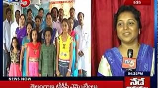 """Singers Participated in """"I am an Indian"""" Song in the Presence of TV5   Kadapa : TV5 News"""