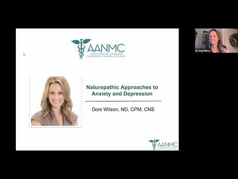 Naturopathic Approaches to Anxiety and Depression