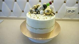 Невероятно красивый торт для Мужчины своими руками ТОРТ за 3000 рублей