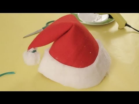 How To Make A Santa Claus Hat Christmas Crafts For The Whole
