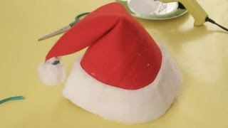 How to make a Santa Claus hat : Christmas crafts for the whole family