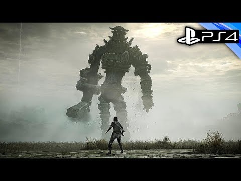 Shadow of the Colossus PS4 Gameplay - Stunningly Beautiful Remake