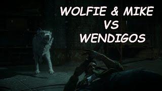 Until Dawn Most Badass Fight Scene MikeWolfie vs Wendigos