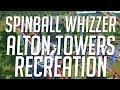 Alton Towers | Spinball Whizzer AKA Sonic Spinball | PLANET COASTER Recreation