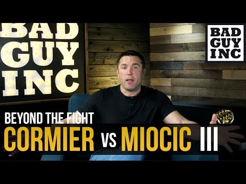 Cormier vs Miocic 3 - What will be different this time?