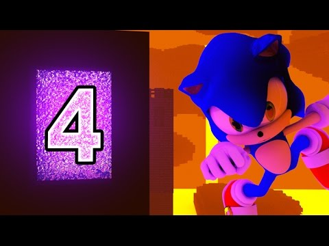 SONIC IN MINECRAFT 4 - (3D Minecraft Animation)