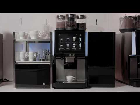 Wmf 5000s Professional Coffee Machine At Lunch Youtube