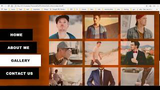 How to create a personal portfolio website using HTML and CSS Part-1
