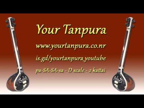 Your Tanpura - D Scale - 2 kattai