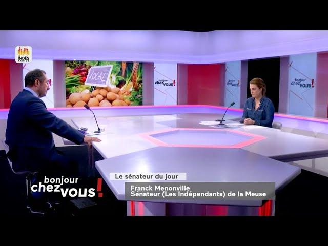 Public Sénat - Franck Menonville : Une semaine réservée à l'agriculture sur Public Sénat