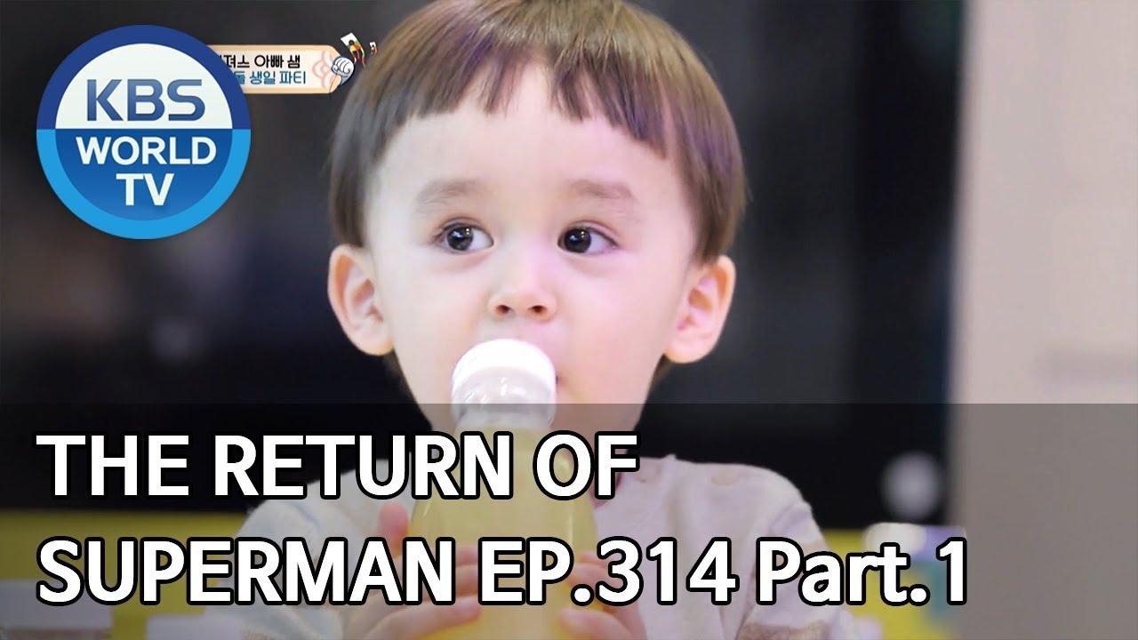 Download The Return of Superman | 슈퍼맨이 돌아왔다 - Ep.314 Part. 1 [ENG/IND/2020.02.01]