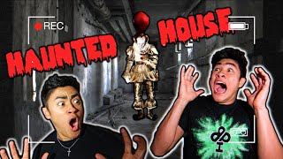 Last to SCREAM in HAUNTED HOUSE *WINS $1,000*