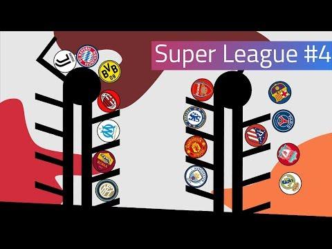 Clubballs Super League Marble Race #4 | UEFA 2019
