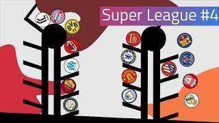 Clubballs Super League Marble Race #4   UEFA 2019