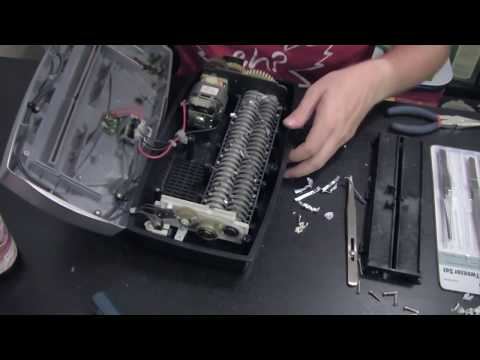 Cross-cut Paper Shredder Teardown and Repair