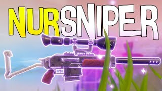 SNIPER ONLY CHALLENGE | Fortnite Battle Royale