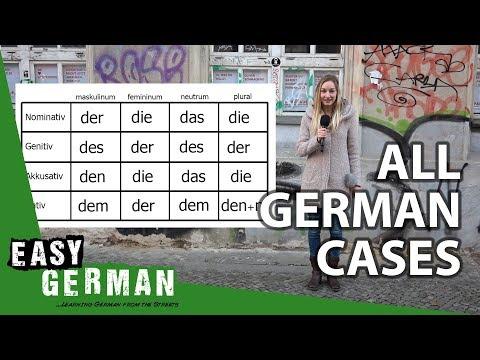 Giáo trình Học Tiếng Đức A1- Bài 10: Cách trong tiếng Đức