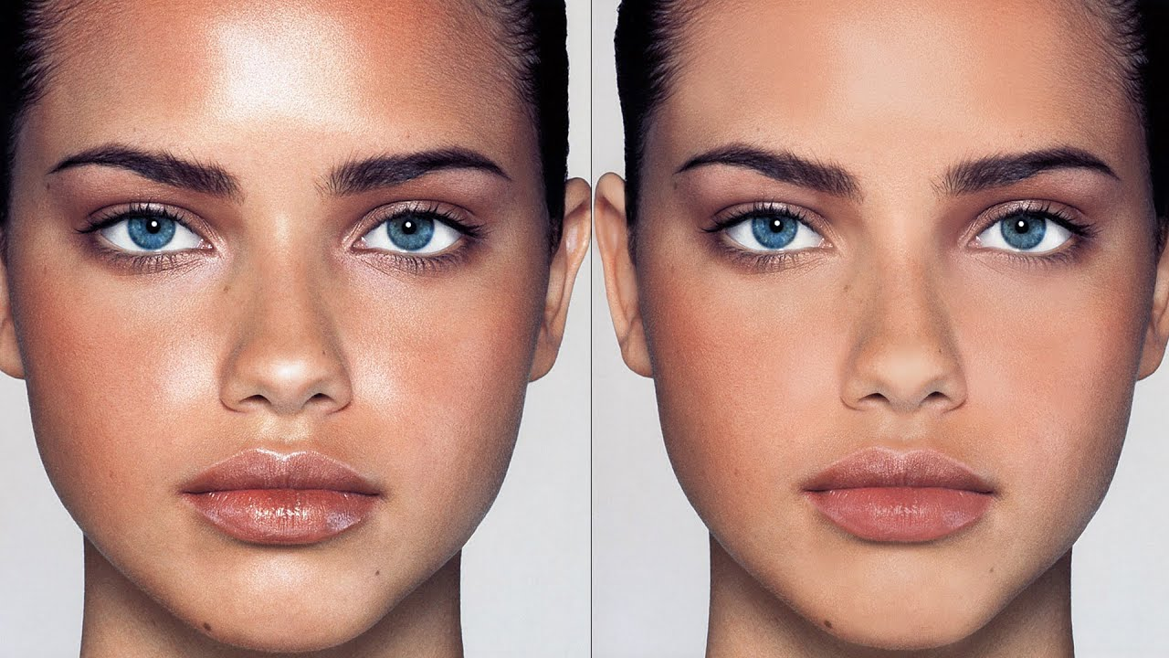How to remove shine from the face 81