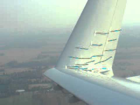 Flow testing blended winglet / fillet
