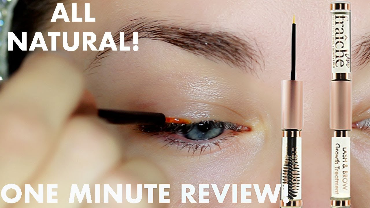 All Natural Browlash Growth Serum Review Beauty Banter Youtube