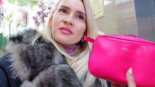 ВЛОГ Шоппинг Готовимся к 8 Марта Спорим с Мужем в Магазине