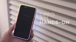 OPPO A71 Hands-on - Entry-level for only Php8,990
