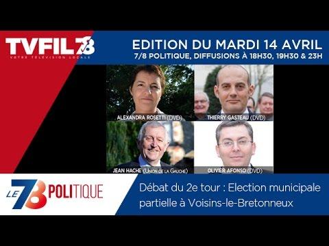 Le 7/8 Politique – débat du second tour de la municipale partielle à Voisins-le-Bretonneux