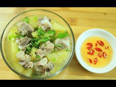 Cách nấu canh khoai tây thơm ngon bổ dưỡng cho cả nhà