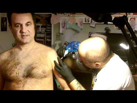 Thomas Vellone, l'ispettore Callaghan del tattoo.MOV