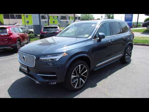 2018 Volvo XC90 T6 AWD Inscription Walkaround, Start up, Tour and Overview