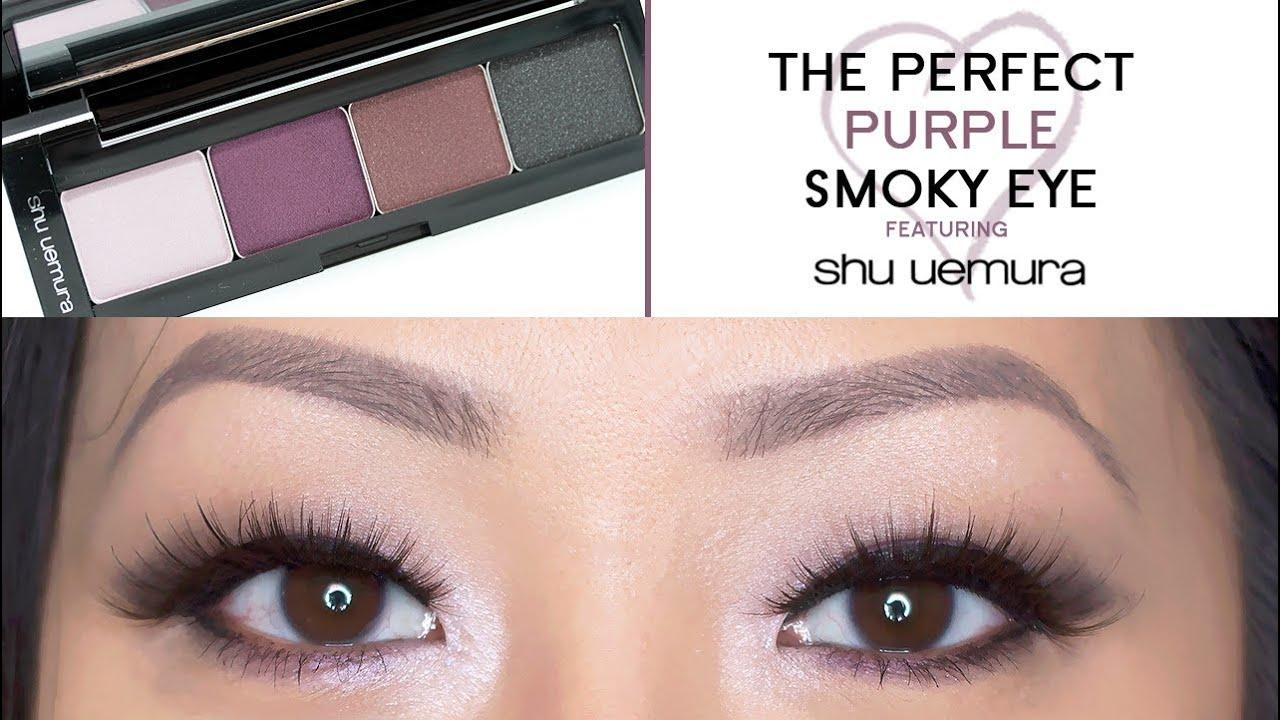 Tutorial The Perfect Purple Smoky Eye Evening Look Youtube