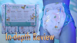 Rearz Alpaca Night-time  In-Depth Review  #adultdiaper