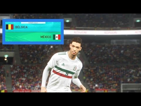b lgica vs m xico pes 2018 friendly match partido amistoso gameplay pc youtube. Black Bedroom Furniture Sets. Home Design Ideas