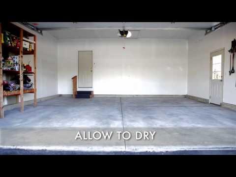 How to Use Rust Oleum Epoxyshield Garage Floor Coating Kit
