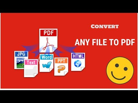How to Convert Any File or Document to PDF