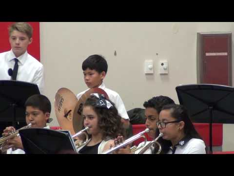 Shughart Middle School Fall Concert 2016