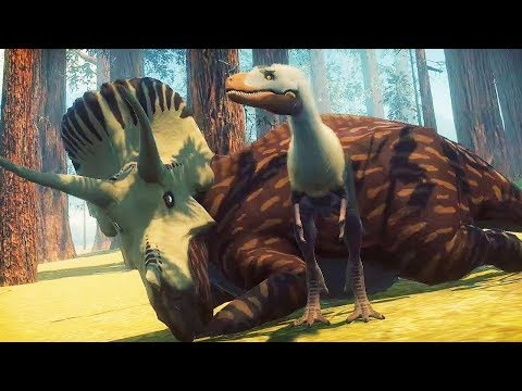 A BRAND NEW DINOSAUR GAME! PLAY AS THE T.REX! | Dinosaurs: Prehistoric Survivors Gameplay