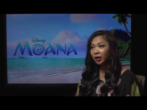 Disney's Moana Press Interview - Griselda Satrawinata, Visua
