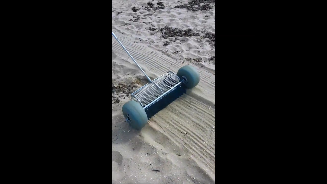 Patented Sand Cleaning Tool - Beach Cleaner - Coming Soon - Sneak  Peek