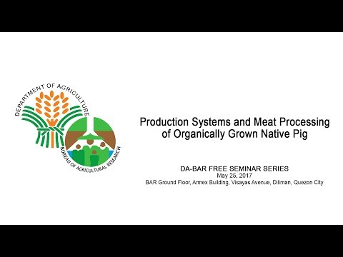 Production Systems and Meat Processing of Organically Grown Native Pig