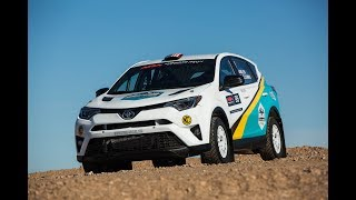 New Rally Car First Gravel Test