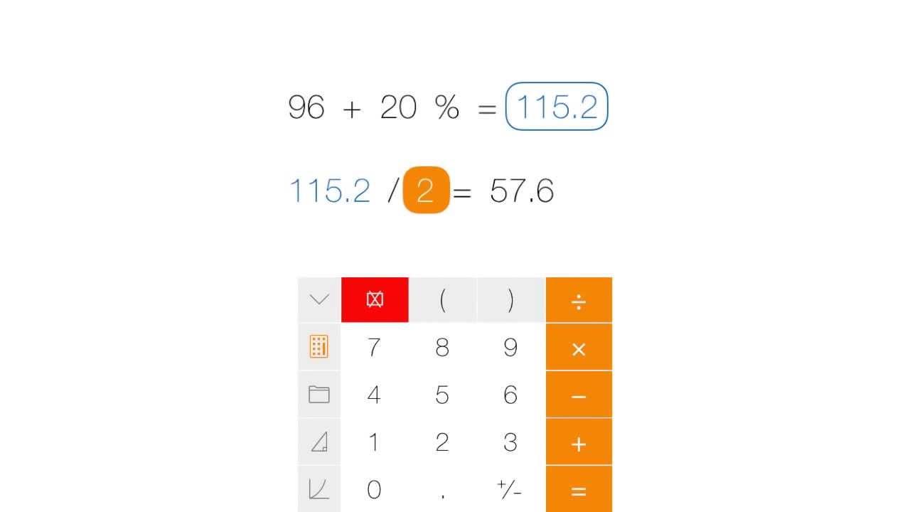 Tydlig - Calculator for iPad & iPhone