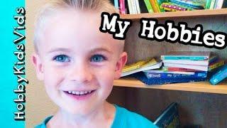 Hobbyfrogs Hobbies! Books + Trampoline, Lego Build Race Car Hobbykidsvids