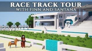 Race Track Tour! | Chrysocolla EC [Minecraft]