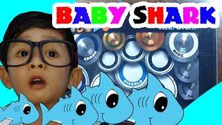 Baby Shark - REAL DRUM | PINKFONG Song | #BabySharkChallenge