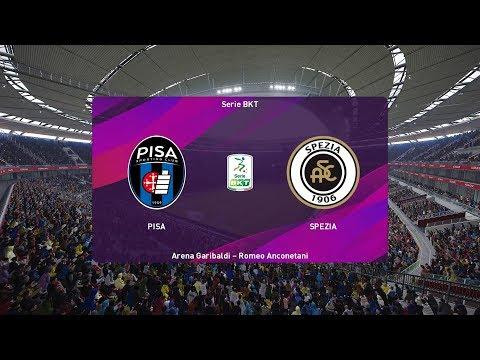 PES 2020 | Pisa Vs Spezia - Italy Serie B | 09 November 2019 | Full Gameplay HD